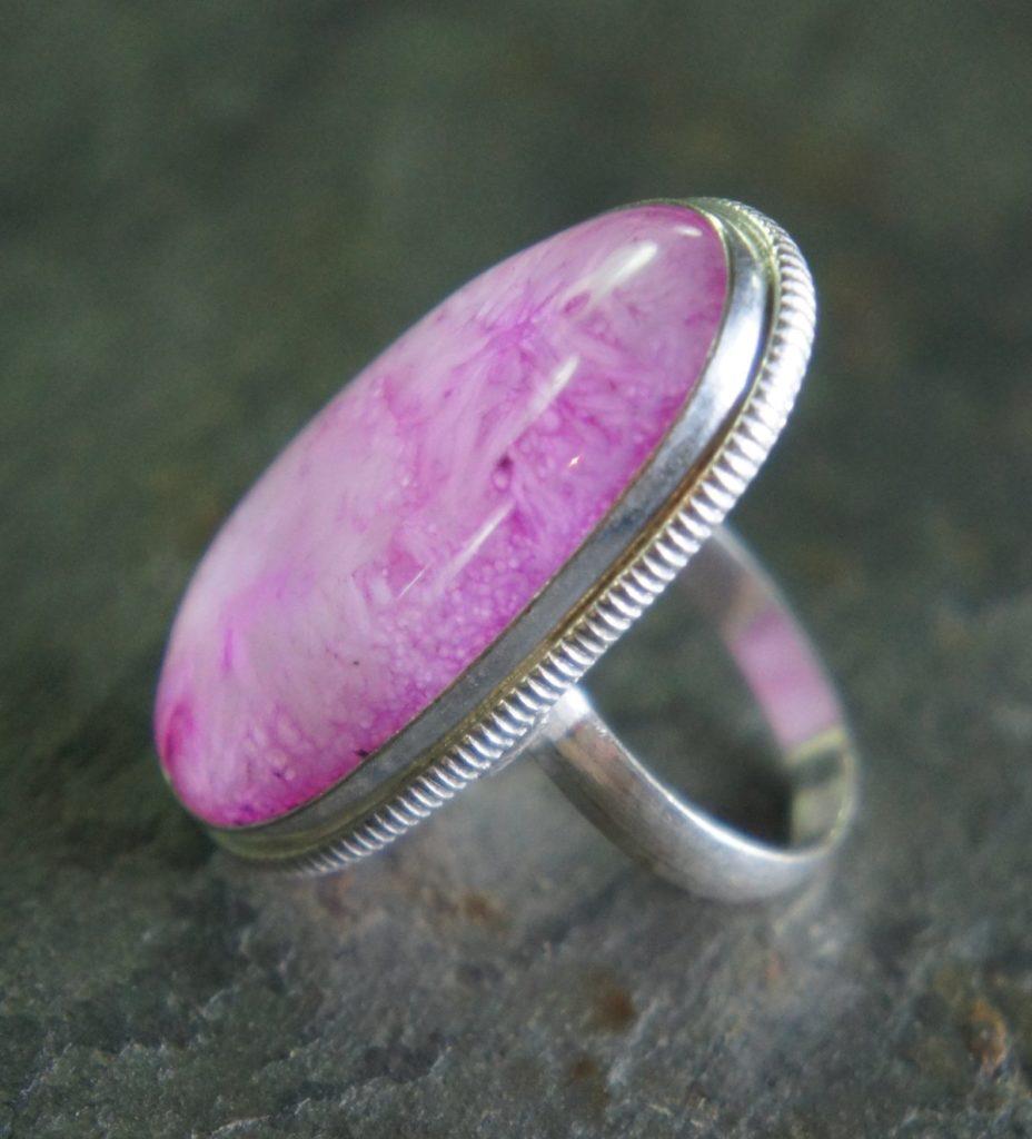 розовый аметист