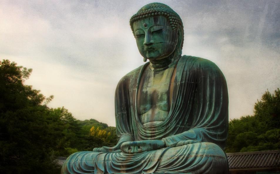 Статуя Будды из жадеита
