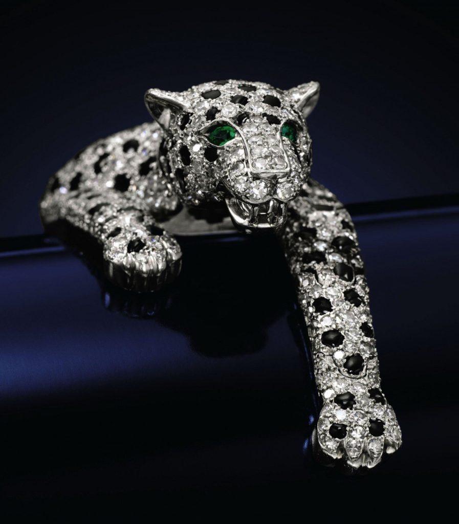 фигурка из алмазов