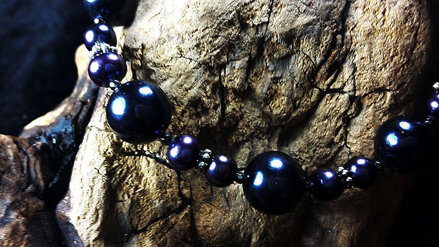 мужской браслет из жемчуга