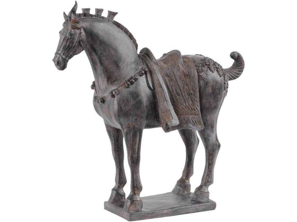 статуэтка лошади из дерева