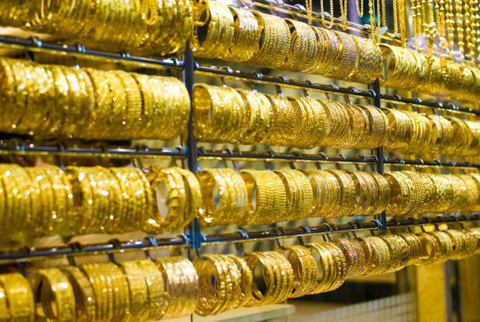 Украшения из дубайского золота