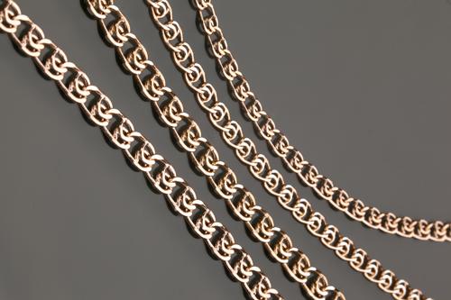 Виды плетения золотых цепей