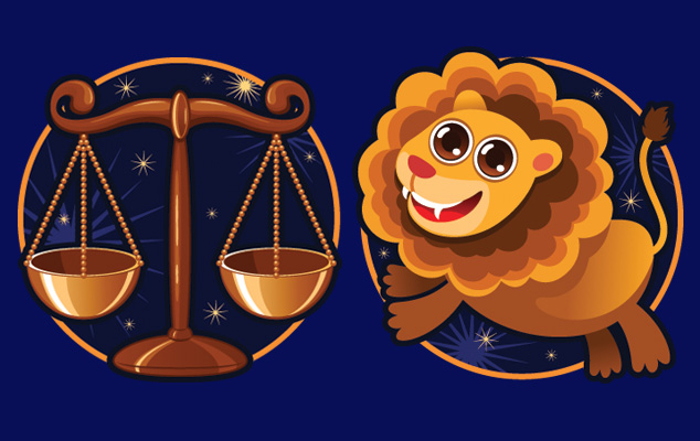 Сочетание лев и весы