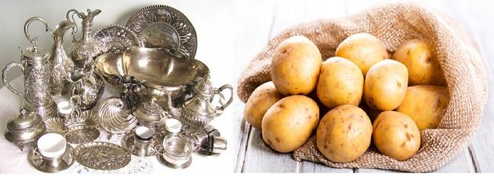 Серебро и картошка