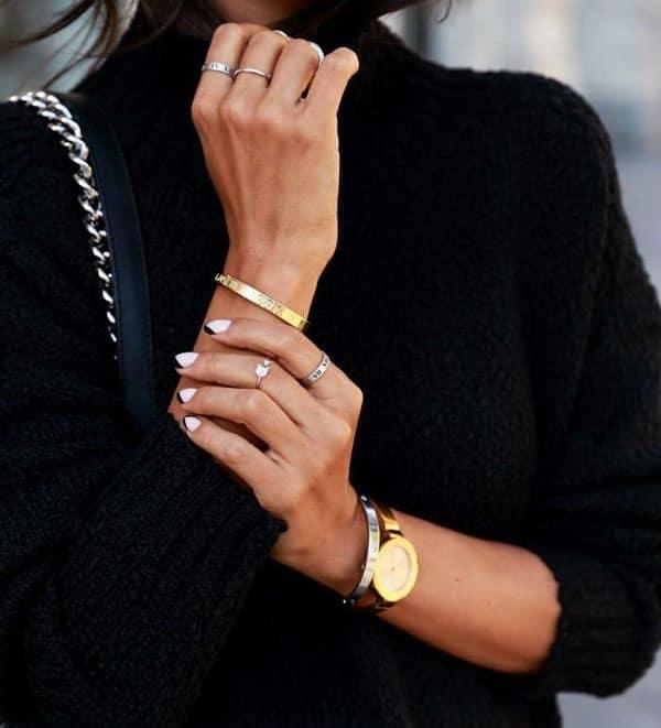 Как носить золото с серебром?