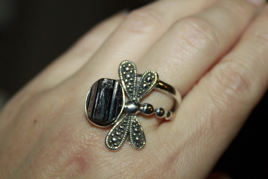 Кольцо с шерлом