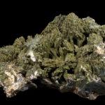 Зеленый камень эпидот
